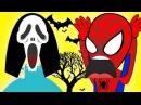 Человек паук против Эльзы! Эльза в МАСКе ХЭЛЛОУИН и многое другое !
