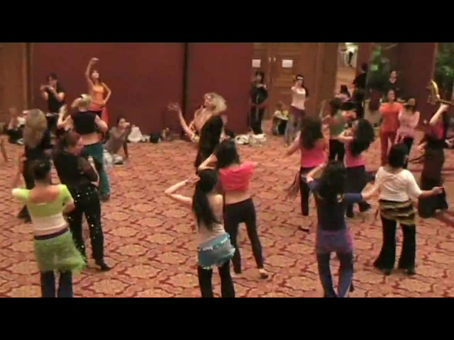 2009.11.Nile Group Festival - Lubna Emam Лубна Эмам baladybeledi workshop - Wolmae