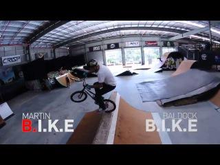 Kyle Baldock vs Logan Martin game of bike