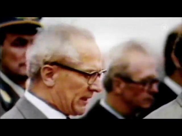 Der Sturz - Honeckers Ende... Крушение–закат правления Хонеккера.