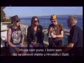 GUNS 'N' ROSES / Exclusive Interview - K5 TV (Split, Croatia) / .