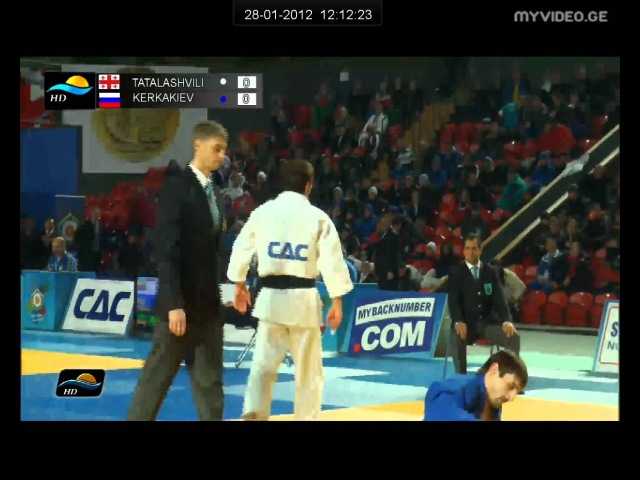 TATALASHVILI Nugzari GEO TERKAKIEV Chingiskhan RUS 1 16 Final 73 Kg World Cup 2012 Tbilisi