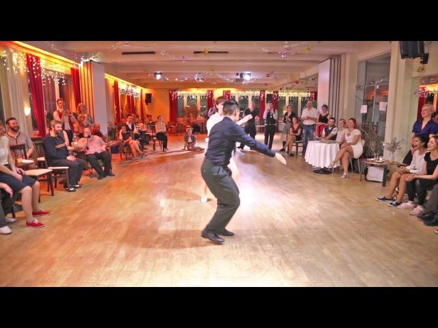 MSDC 2014 - JB Mino Tatiana Udry - Lindy Hop Improvisation