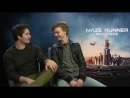Maze Runner_ The Death Cure Cast Reveal FUNNIEST Moments _ MTV Movies
