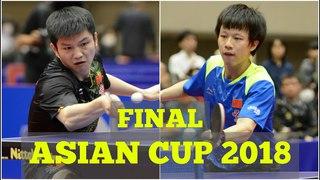 FAN Zhendong vs LIN Gaoyuan | MS FINAL | Asian Cup 2018