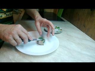 Кулинарный блог ПРОСТАЯ ЕДА: шедевры кулинарии -бутерброд с селедкой