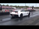 A8 Corvette ZO6 Goes 10.38 All Stock With Drag Radials