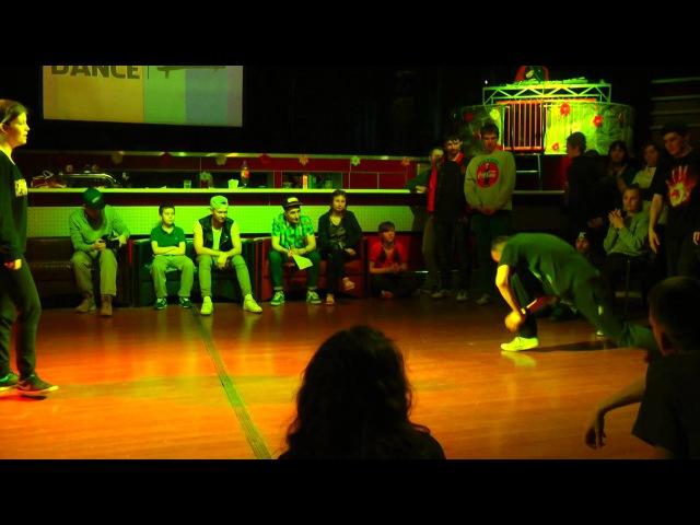 SHOW YOUR DANCE II Electro 1 8 Daria vs Huki