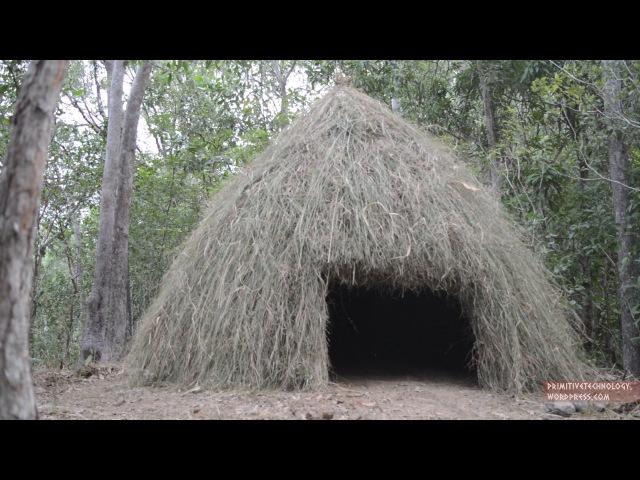 Primitive Technology Grass hut