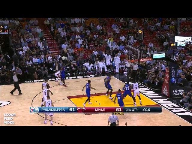 [HD] Philadelphia 76ers vs Miami Heat | Full Game Highlights | Feb 23, 2015 | NBA Season 2014/15