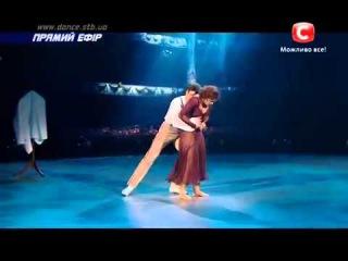 Аня Николенко и Вова Раков - Танцуют Все 7 - Второй Прямой Эфир ()