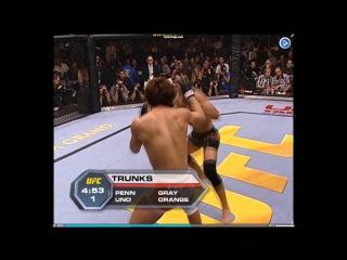 BJ PENN vs CAOL UNO I | very fast KO