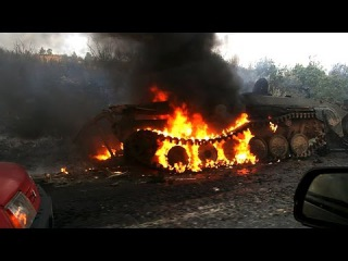 Взорванные Танки ВСУ & Дебальцево War in Ukraine