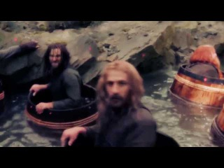 The Hobbit (behind the scenes) - Bounce In California!