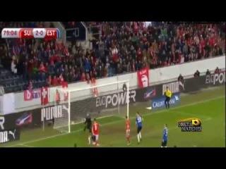 Switzerland vs Estonia 3:0 2015 All Goals & Highlights