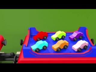 Учим цифры. Учимся считать от 1 до 10 с паровозиком Чух-Чухом. Развивающие мульт