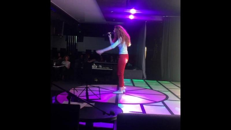 Выступление Валерии Стригановой