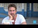 Gerard Butler in Liberia with Mary's Meals