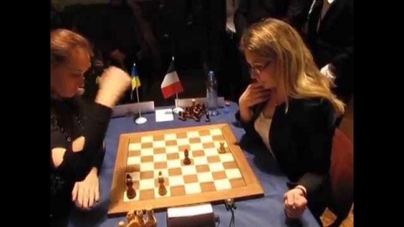Skripchenko Gaponenko 2010 Women's World Chess Blitz Championship