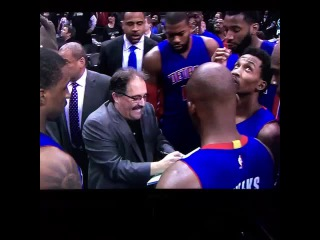 We just form a f'ing wall!! -Stan Van Gundy