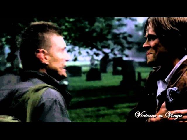 Damon Stefan Dean Sam Winchesters vs Salvatore :D
