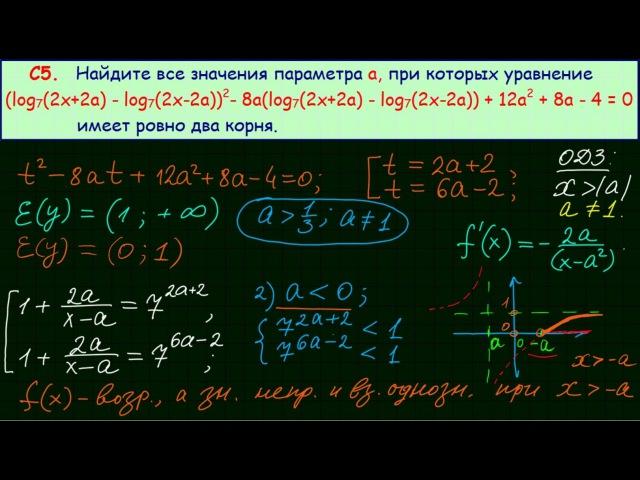 Задание 18 ЕГЭ по математике 17
