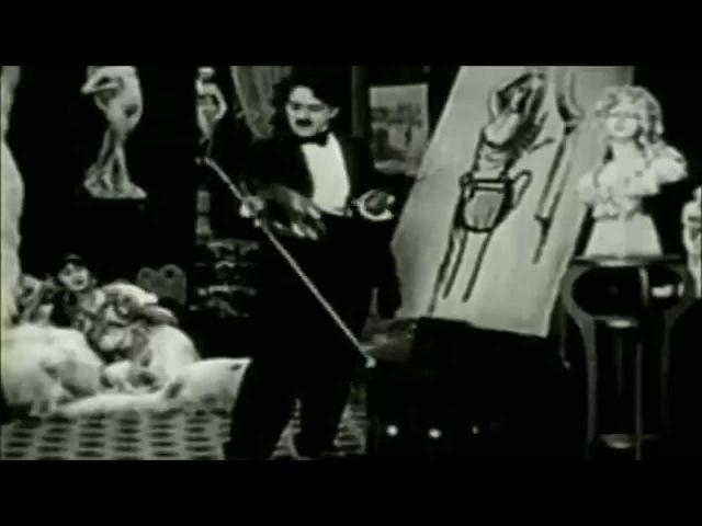 22 Чалин Чаплин Лицо на полу бара Charlie Chaplin The Face on the Bar Room Floor 1914