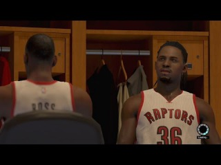 NBA 2K15 PS4 My Career - Moses Cooking & Hooking