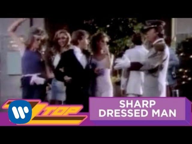 ZZ Top Sharp Dressed Man Official Music Video