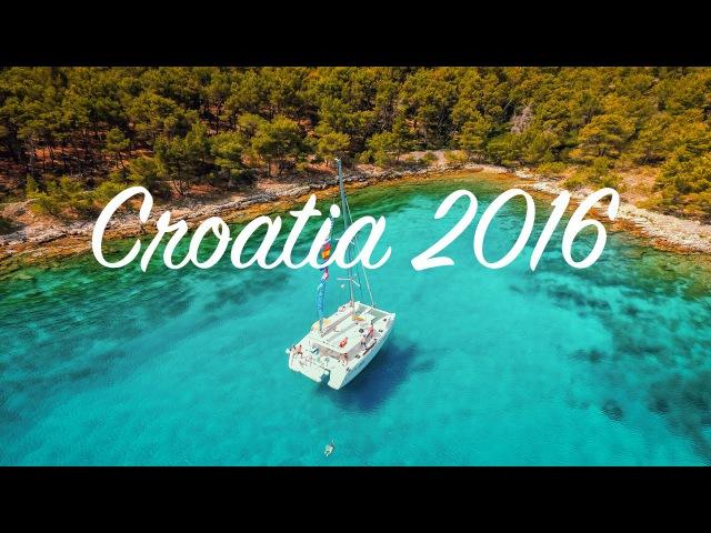 Croatia a week on a yacht in the mediterranean 4K DJI Phantom 3 Professional 2016
