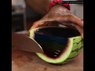 Rainbow watermelon vodka jello shots (hd)