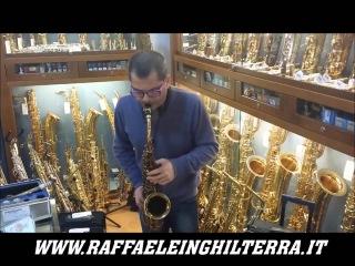 Rosario Giuliani prova sax alto Selmer Super Balanced 37222   Raffaele Inghilterra strumenti musical