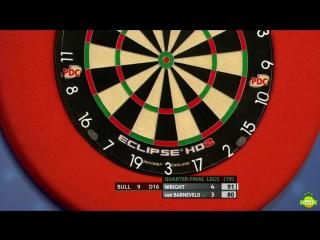 Peter Wright vs Raymond van Barneveld (Coral UK Open 2017 / Quarter Final)