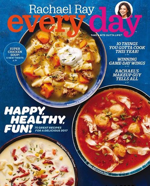Rachael Ray Every Day - January-February 2017