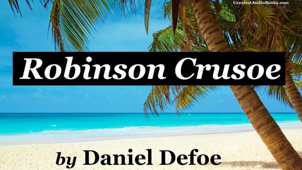 (BOOK + AUDIOBOOK): Robinson Crusoe / Робинзон Крузо