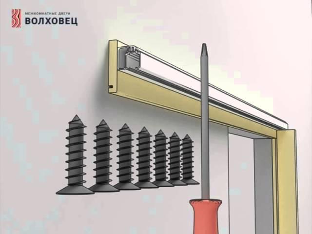 Монтаж раздвижной системы SLIDER Двери Волховец