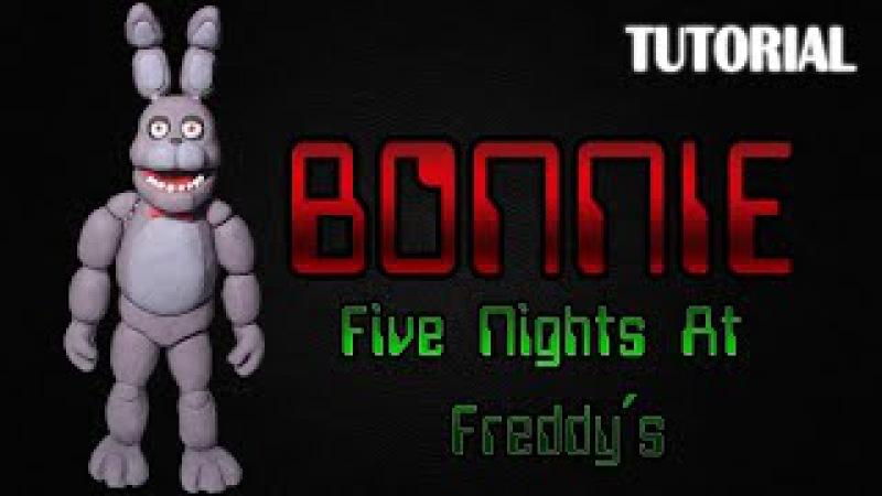 Tutorial Bonnie en Plastilina Five Nights at Freddy´s Bonnie Clay Tutorial