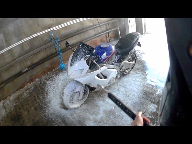 Honda CBR 600 F2i ресталинг своими руками Приборка Koso rx2m март 2017