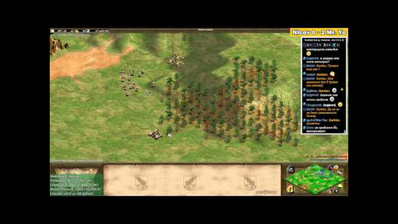 Age of Empires 2 Yo vs Nicov 5 игр Viper vs RiuT
