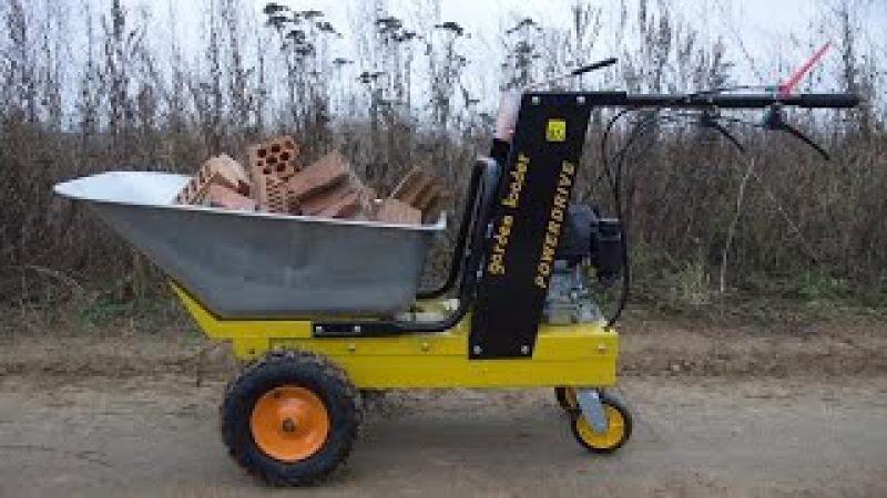 Самоходная тачка ANT Powerdrive BY150 Настоящий дачный внедорожник
