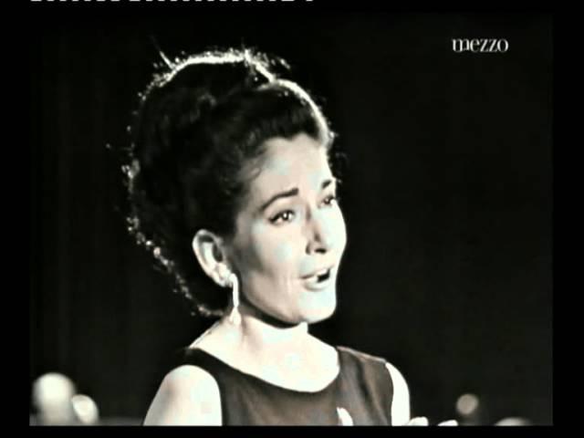 Maria Callas Adieu notre petite table Manon J Massenet