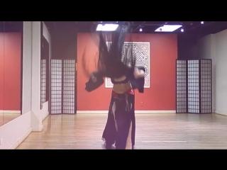 Mahafsoun Metal Bellydance ~ Moonspell {Breathe Until We Are No More}