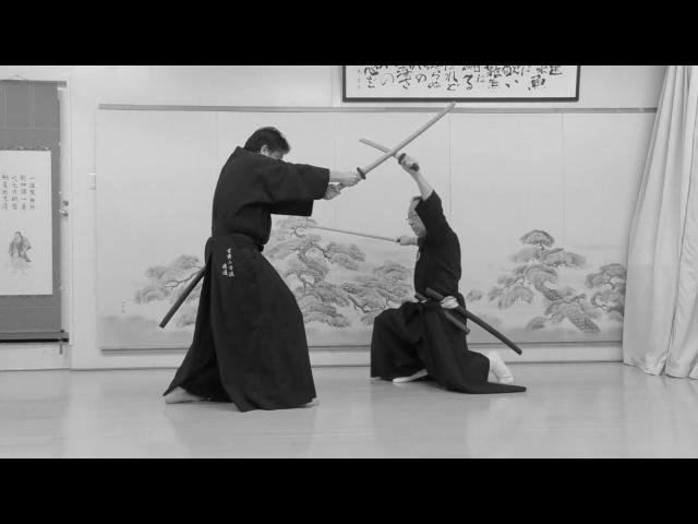 玄黄二刀流 其之二 居合形Genko Nito ryu PART2 Bujutsu Kenjutsu