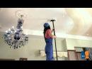 Как нужно мыть натяжной потолок