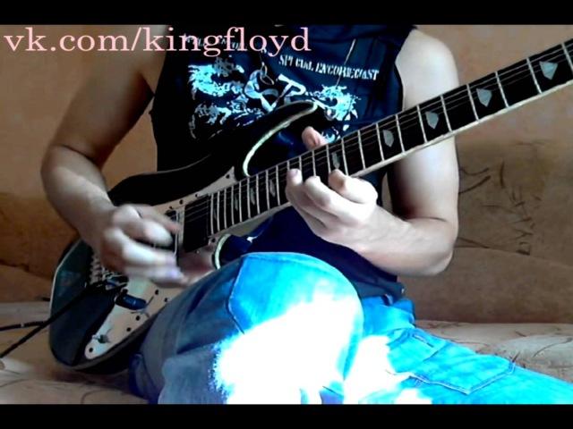 Andrey Korolev The Crush of Love Joe Satriani cover