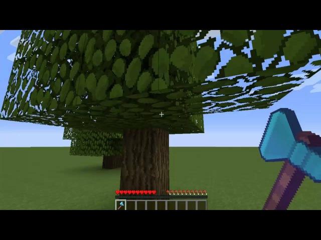 мод на майнкрафт 1.7.10 если срубить дерево #10
