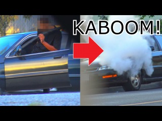 ULTIMATE Bait Car Prank In The Hood! [instant Karma] - Justice - Social Experiment - Car Open