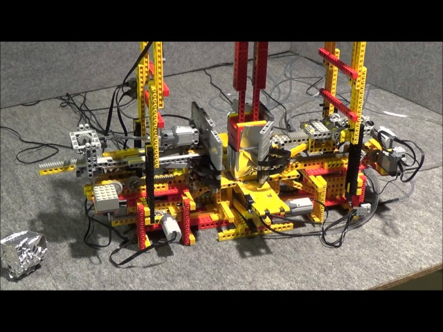 LEGO Würfel Faltmaschine Cube Folding Machine by üfchen