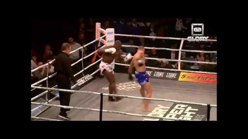 GLORY 12 SuperFight Series Francois Ambang vs Eddie Walker
