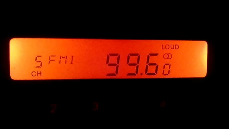 Приём Радио Активное Балаково 99.6 25.05.15. 2205